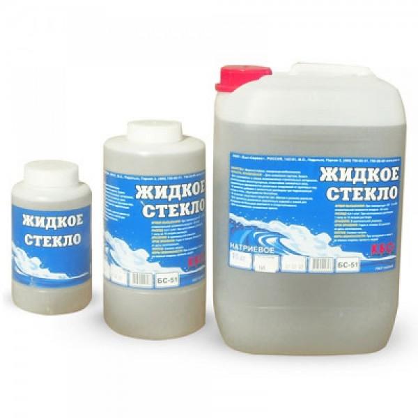 Жидкое стекло КБС 15 кг