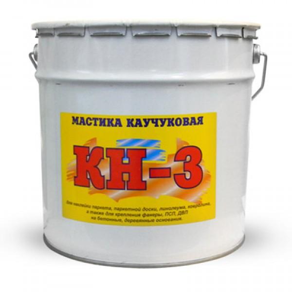 Мастика Каучуковая КН-3 КБС  клей для фанеры 22кг
