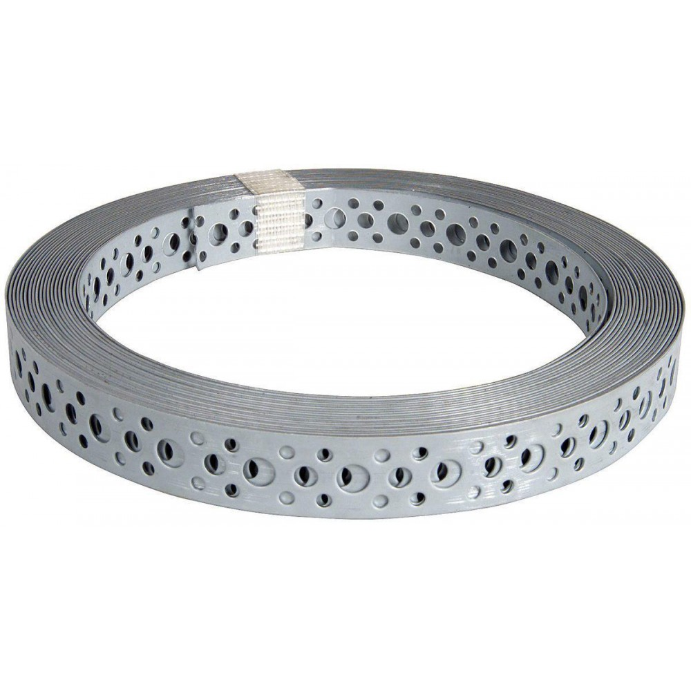Перфорированная  лента  0.55 х12 мм 25 м, сталь