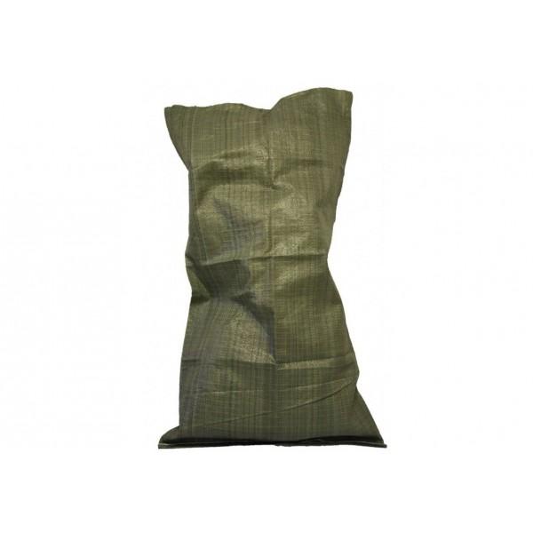 Мешок для мусора 55х95 см цвет зелёный