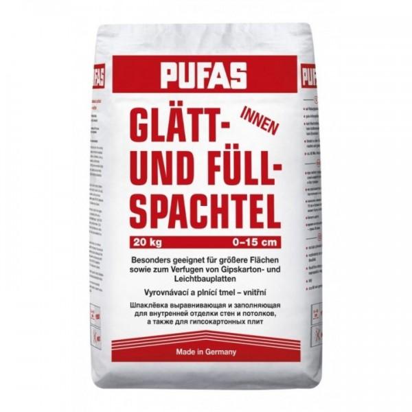 Шпаклевка гипсовая Pufas Full-Finish Spachtel 20 кг