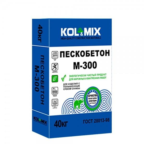 Пескобетон М-300 Колмикс  / Kolmix 40 кг