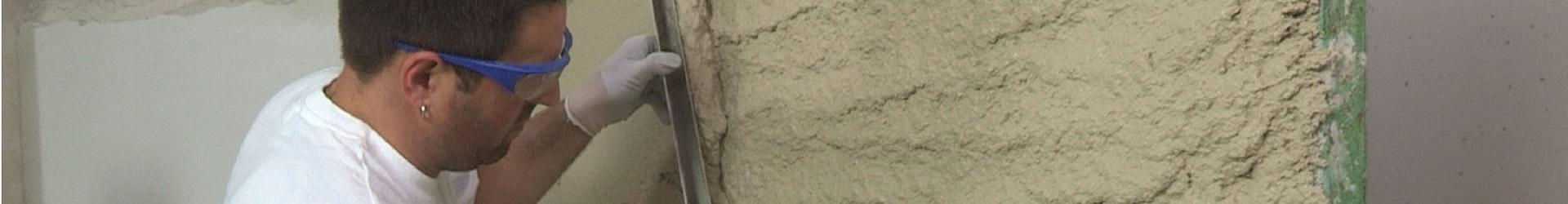 Штукатурка гипсовая и цементная