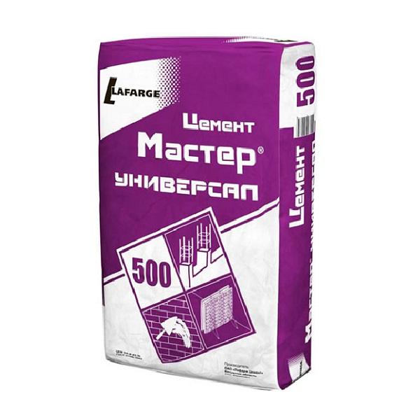 Цемент Лафарж  Мастер универсал М-500 50 кг
