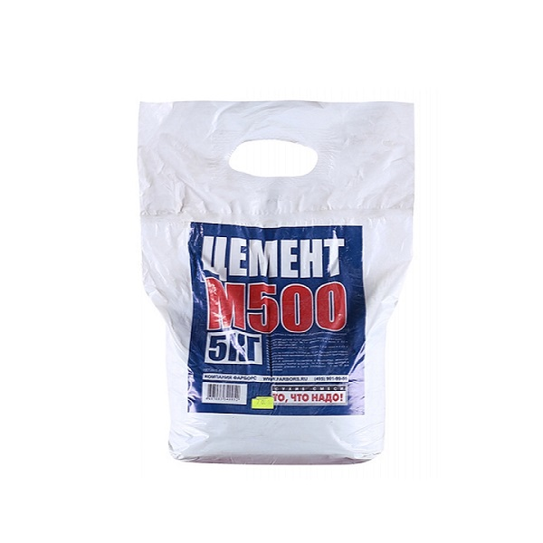 Цемент М-500 Портланд, 5 кг.
