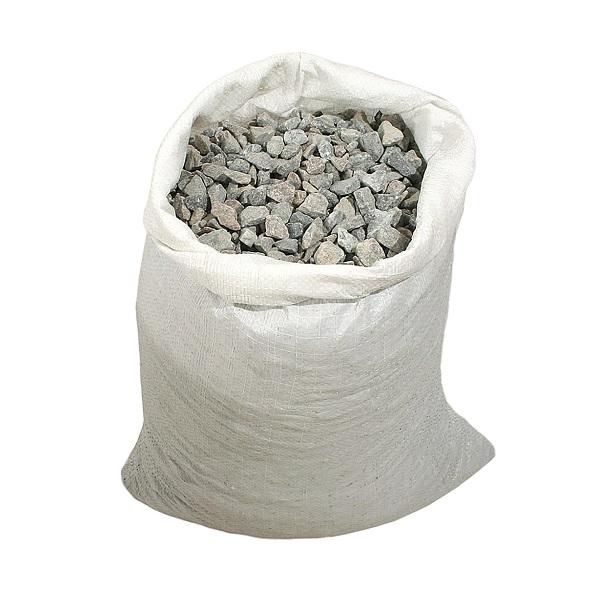 Щебень гранитный строительный фракция (5-20 )  25 кг