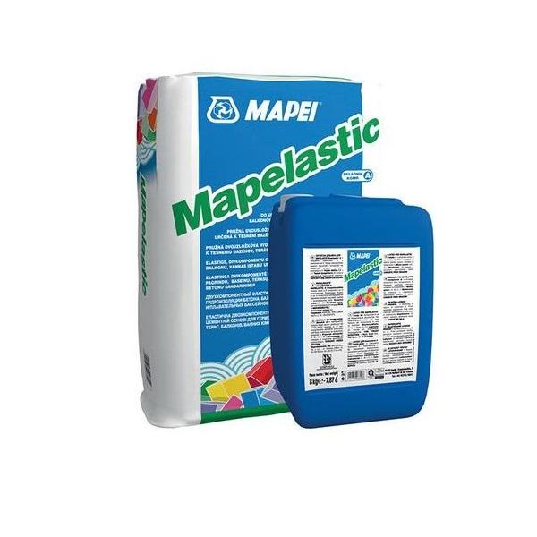 Гидроизоляция цементная двухкомпонентная  Mapei Mapelastic 32 кг