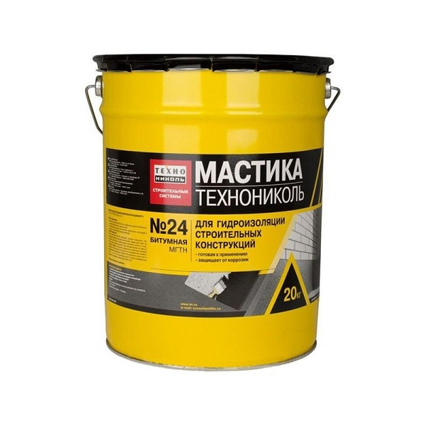 Мастика битумная Технониколь №24 (20 кг)