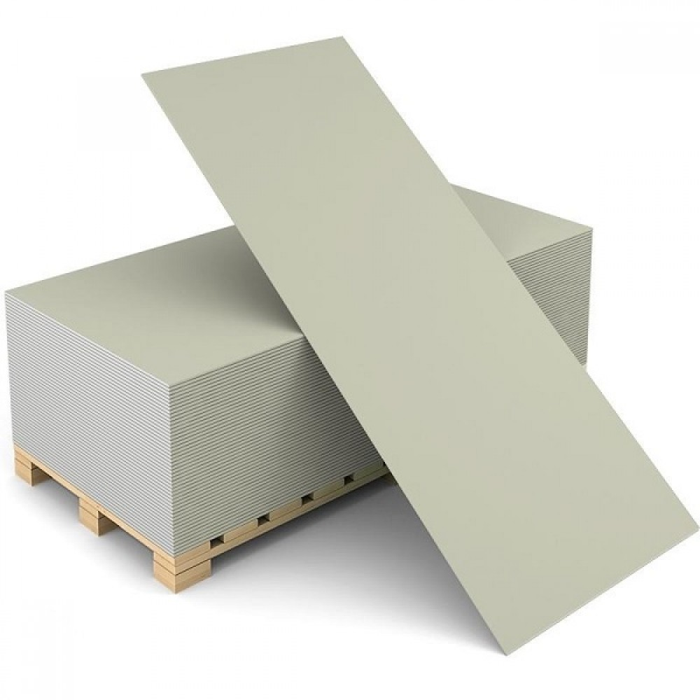 Гипсокартон  ГКЛ Knauf 2500х1200х9,5 мм