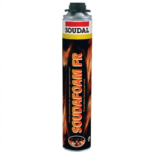 Пена профессиональная огнестойкая Soudal 750 мл