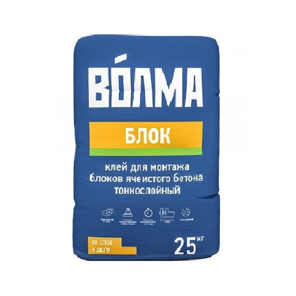 Клей монтажный «ВОЛМА-Блок» 25кг