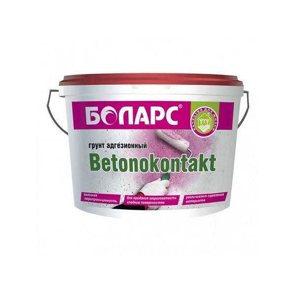 Грунт адгезионный Боларс Бетоноконтакт 10 кг