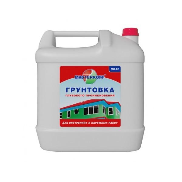 Грунтовка универсальная МАСТЕРКОФФ  МК-13 10 л
