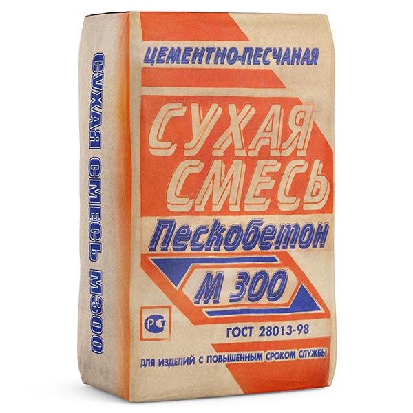 Пескобетон  Инфострой М300  40 кг.