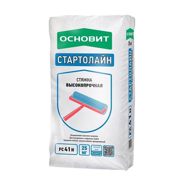 Стяжка  пола высокопрочная Основит Стартолайн FC41 H ( Т-41) 25 кг