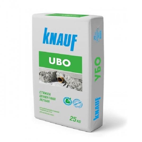 Стяжка пола Knauf УБО цементный  легкий 25 кг