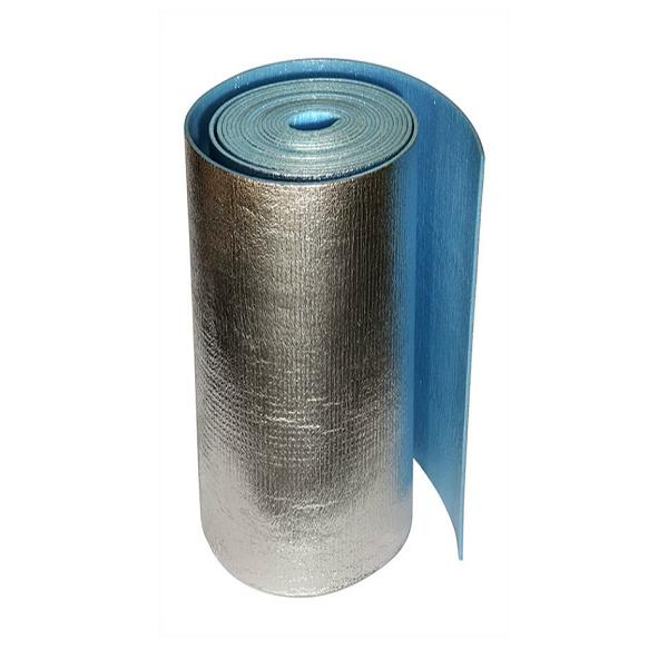 Самоклеющейся фольгированный пенофол 1,2х25мх5мм (30м2)