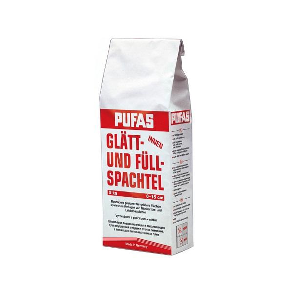 Шпаклевка гипсовая Pufas Full-Finish Spachtel 5 кг