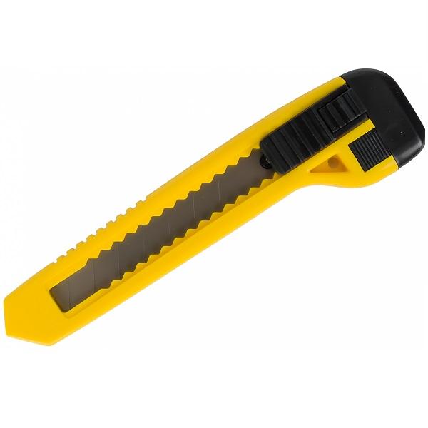 Нож малярный пластиковый 18мм