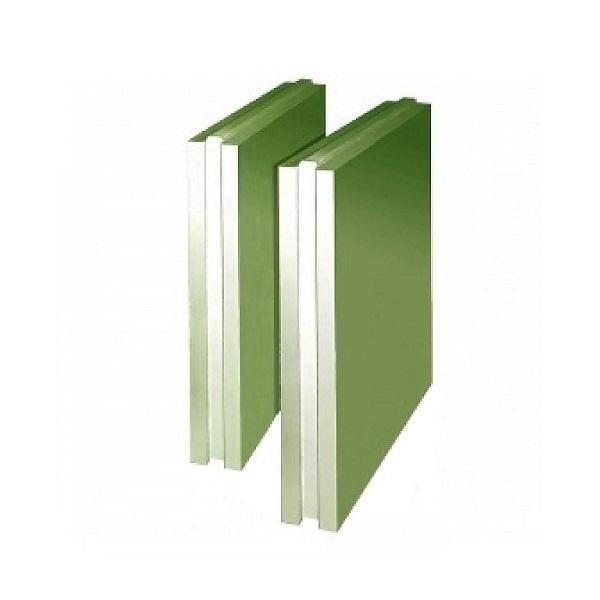Плита пазогребневая влагостойкая Кнауф полнотелая 667х500х100 мм.
