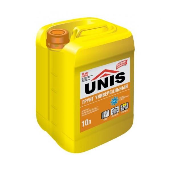 Грунтовка  универсальная  ЮНИС 10 л