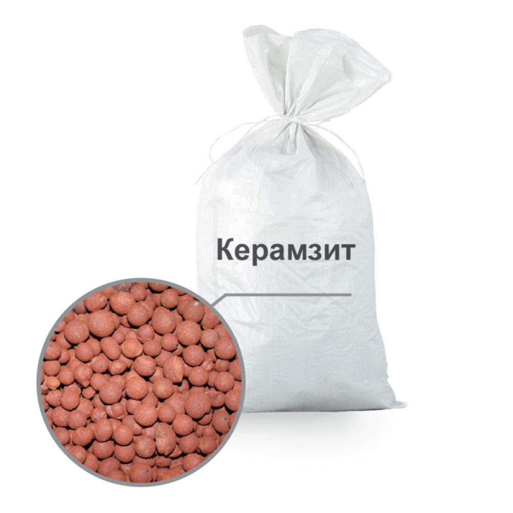 Керамзит в мешках  фракция 10-20 мм 0,020м/куб