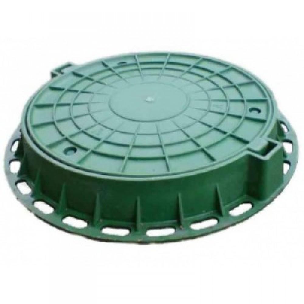 Люк полимерный d- 100мм (комплект)