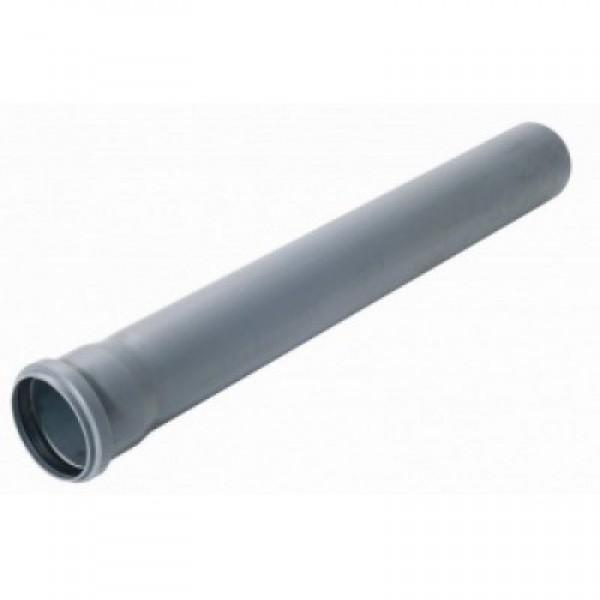 Труба с раструбом d-50мм 1000мм