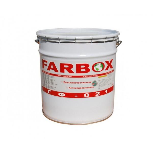 Краска грунт Farbox / Фарбокс ГФ-021 Серая (1.8 кг)