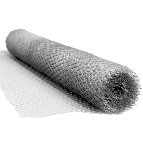 Сетка штукатурная оцинкованная просечно вытяжная (ЦПВС) 40х20х0,5мм (1х8м рулон)