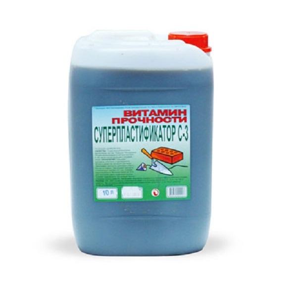 Суперпластификатор для раствора С-3  10 л
