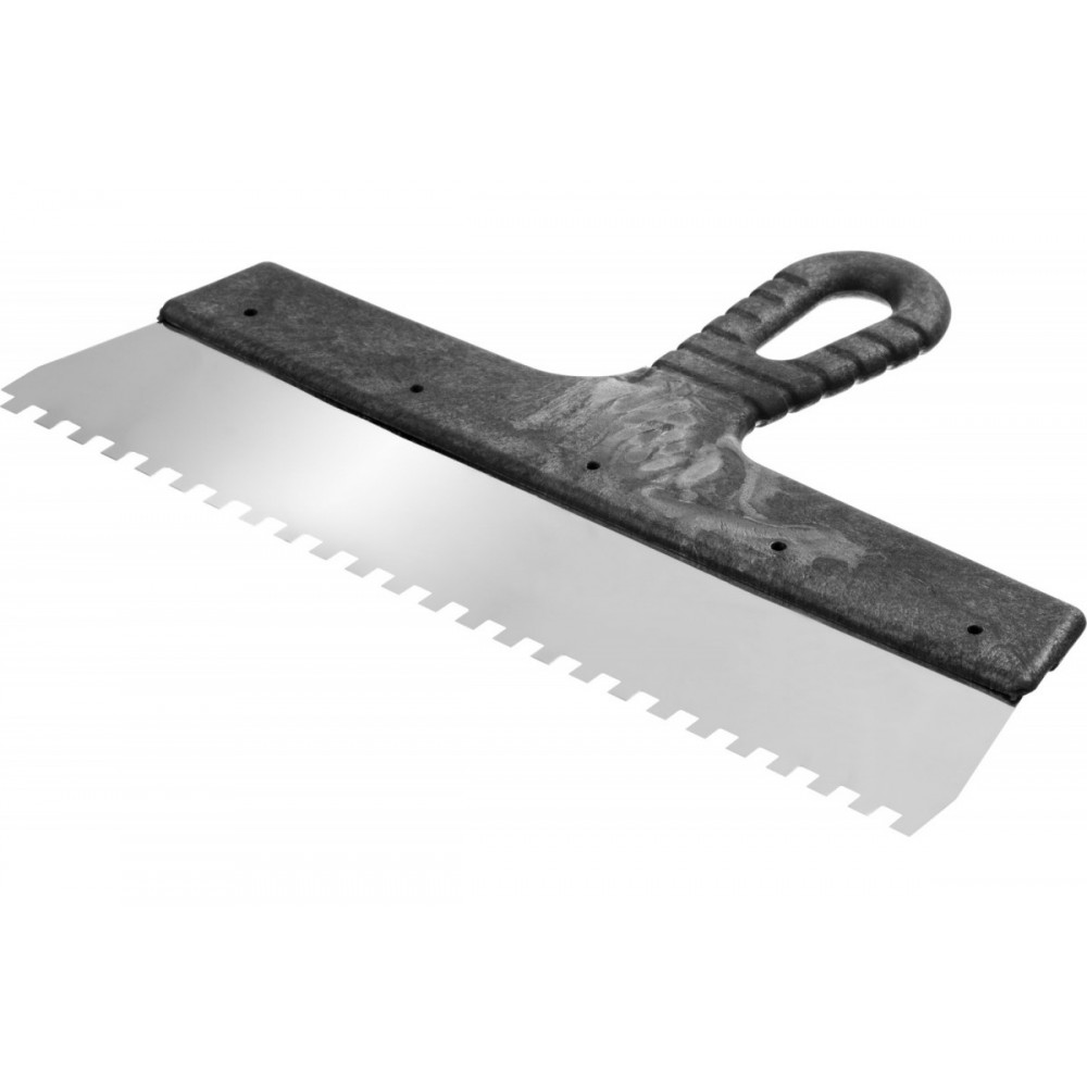 Гребенка для плиточного клея ширина 45, зуб 0,5 мм