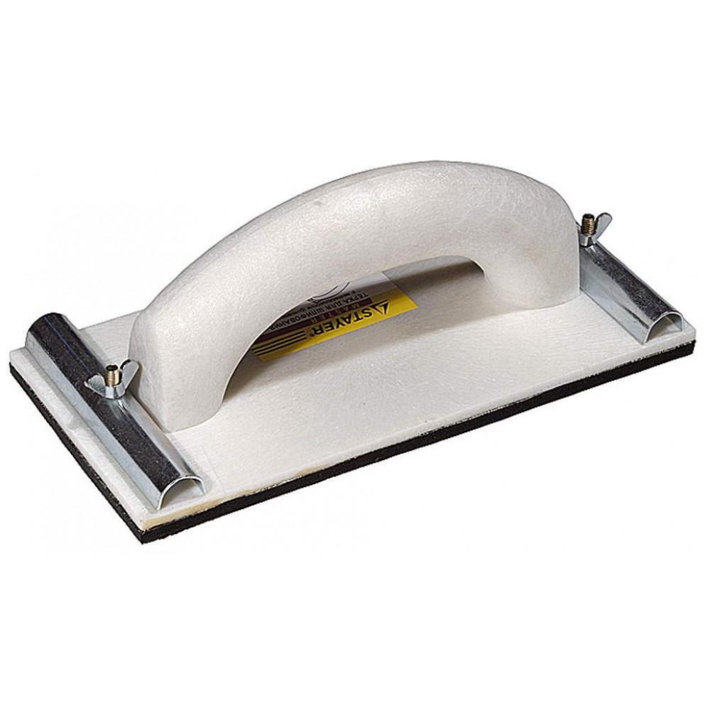 Колодка шлифовальная 230*80мм с ручкой