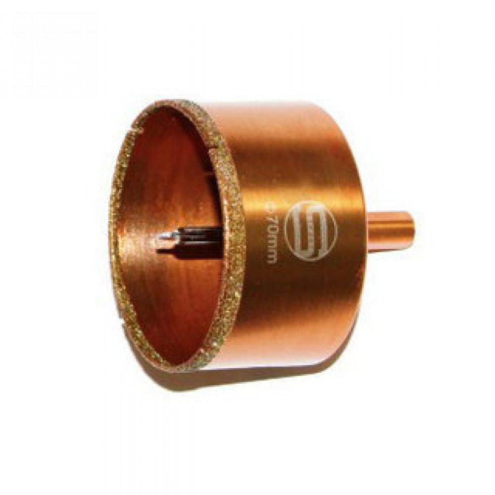 Алмазная коронка с центральным сверлом profi 80 мм