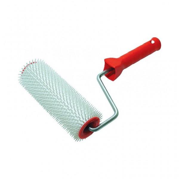 Валик игольчатый для наливных полов 240 мм игла 13мм