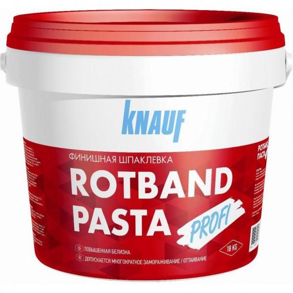 Готовая шпаклевка Кнауф Ротбанд Паста Профи 18 кг