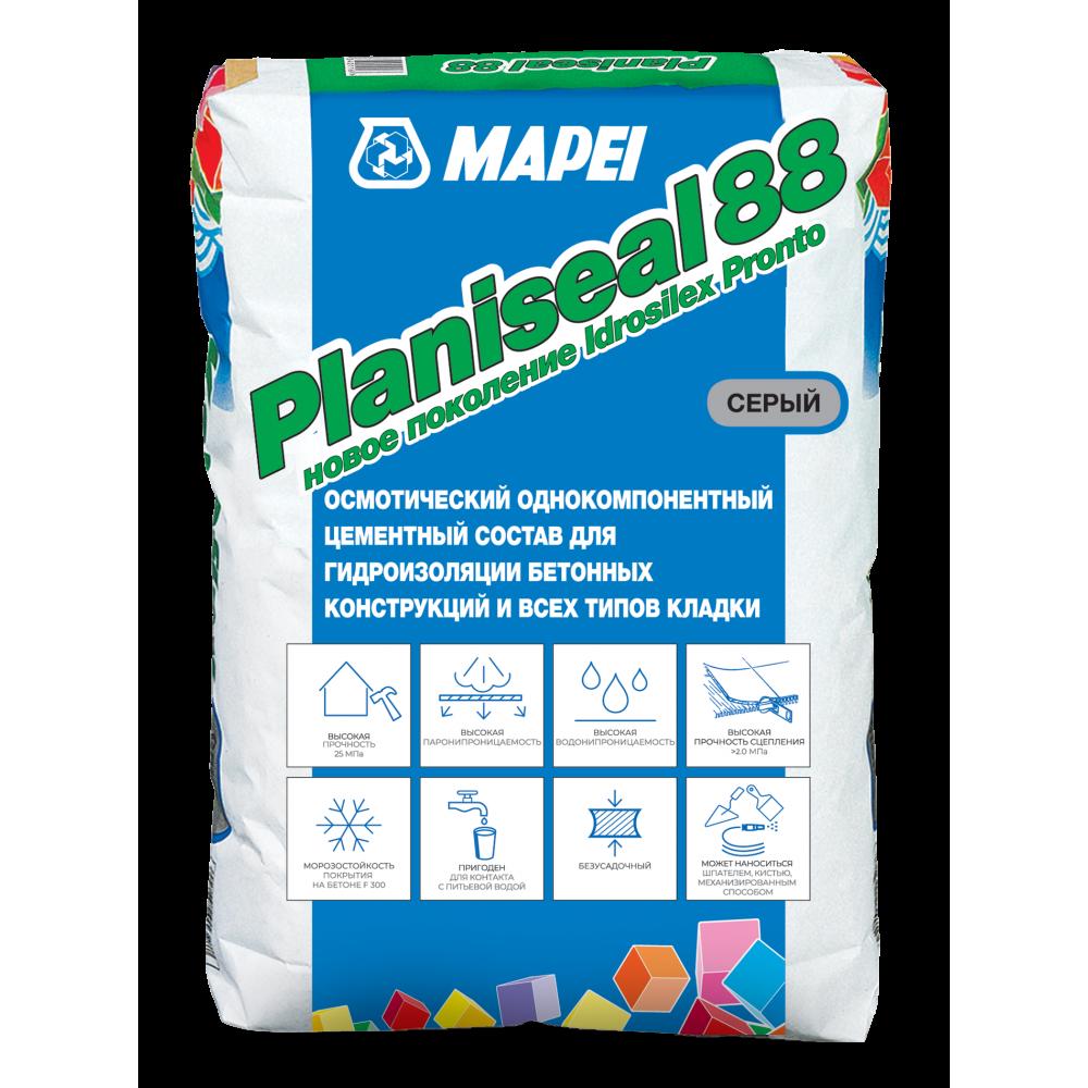 Обмазочная гидроизоляция Planiseal 88