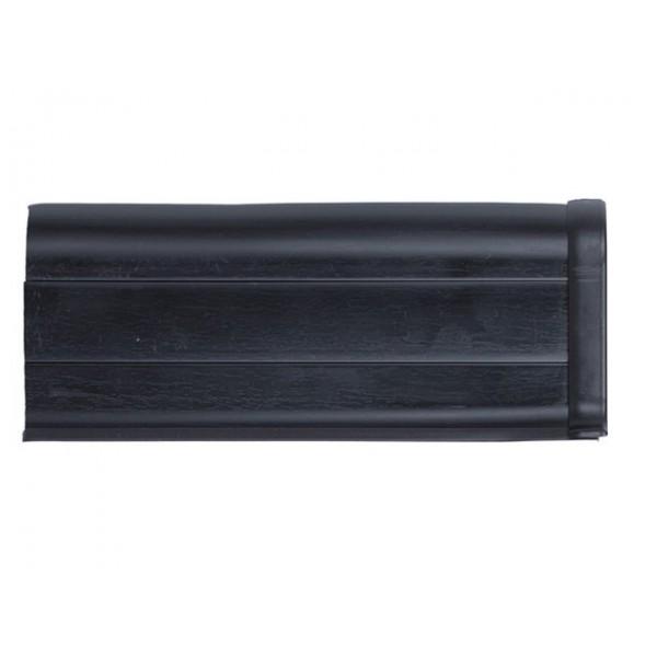 Плинтус напольный 55мм 2.5м, Черный