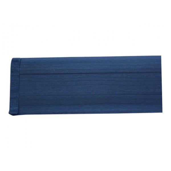 Плинтус напольный 55мм 2.5м, Синий