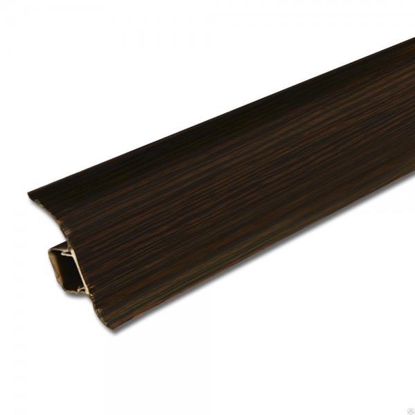 Плинтус напольный 55мм 2.5м, Венге