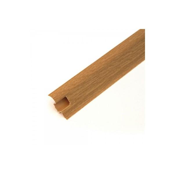 Плинтус напольный 55мм 2.5м, Дуб