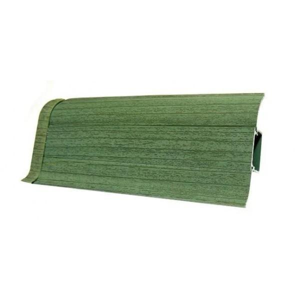 Плинтус напольный 55мм 2.5м, Зеленый