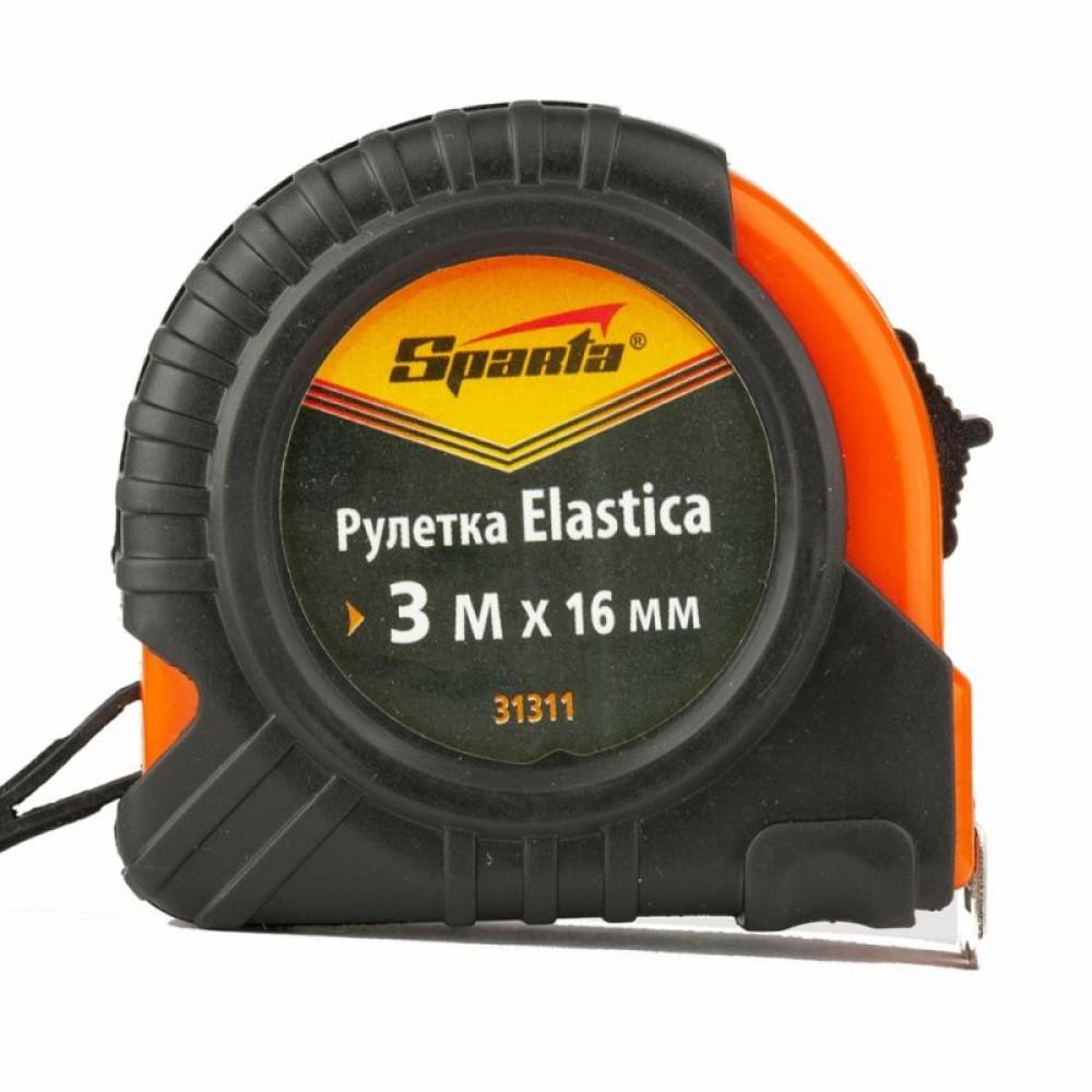 Рулетка Elastica 3 м х 16 мм Sparta