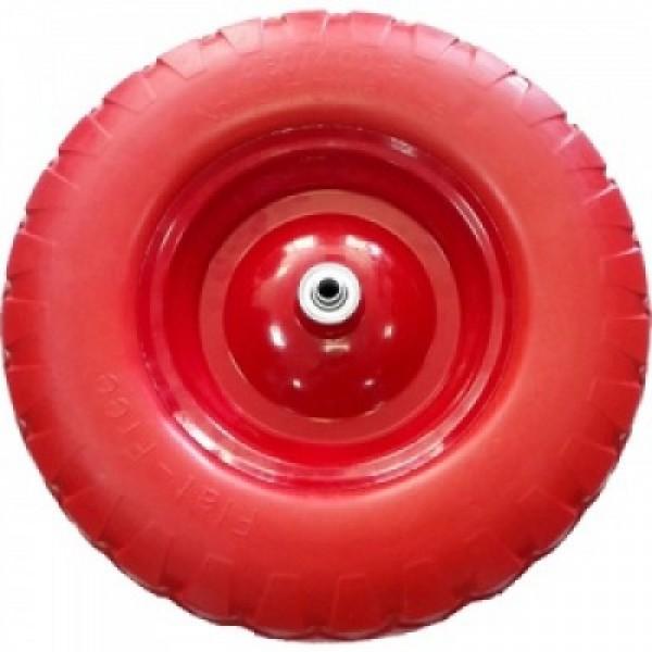Бескамерное колесо для тачки полиуретановое