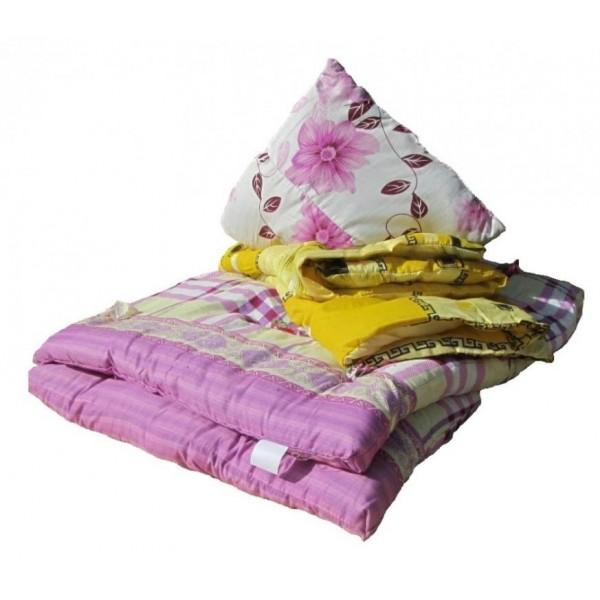 Спальный комплект для рабочего:( матрас, подушка, одеяло)