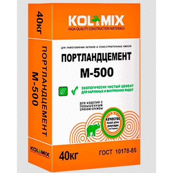 Портландцемент М-500 Kol&Mix  40кг