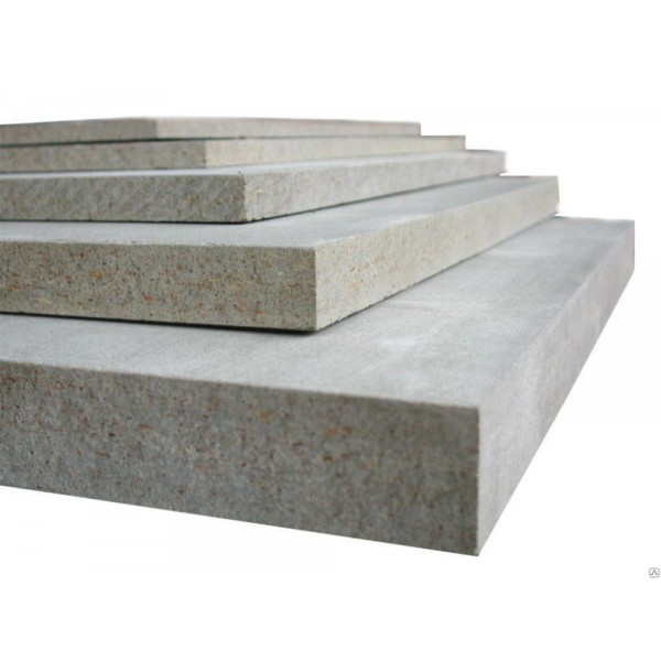 Цементно-стружечная  плита  2700х1250х8 мм.