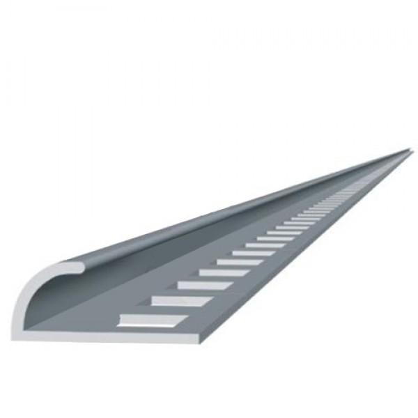Профиль для плитки наружный угловой белый 7 мм