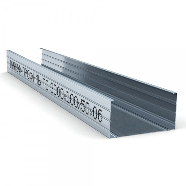 Профиль стоечный Knauf 100х50х0,6/3000 мм