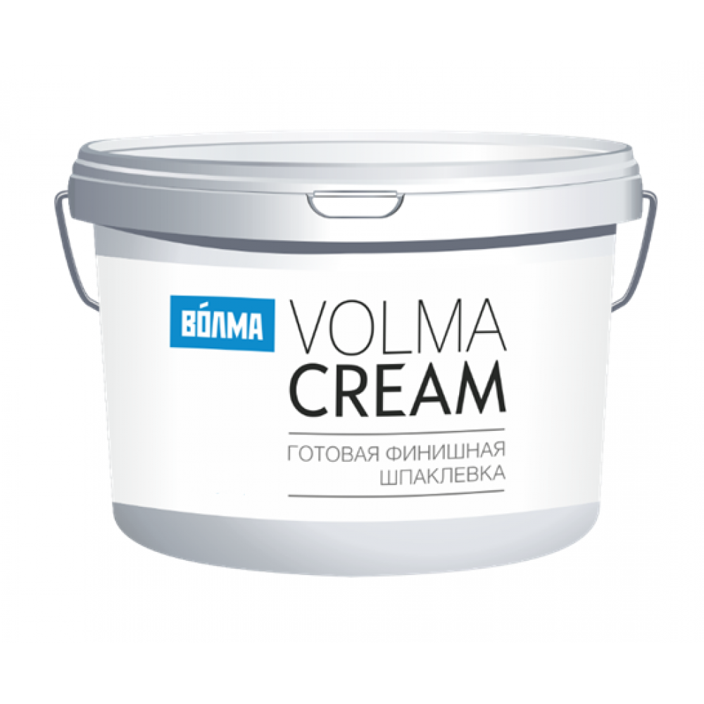 Готовая шпаклевка Волма Крем (Cream) 4 кг